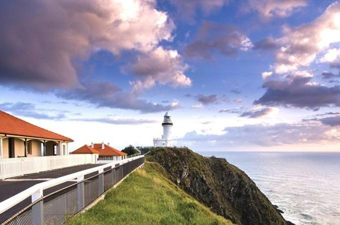 Cape Byron Lighthouse Keepers Cottages. Photo: D Young