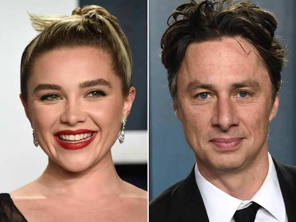 florence pugh and zach braff