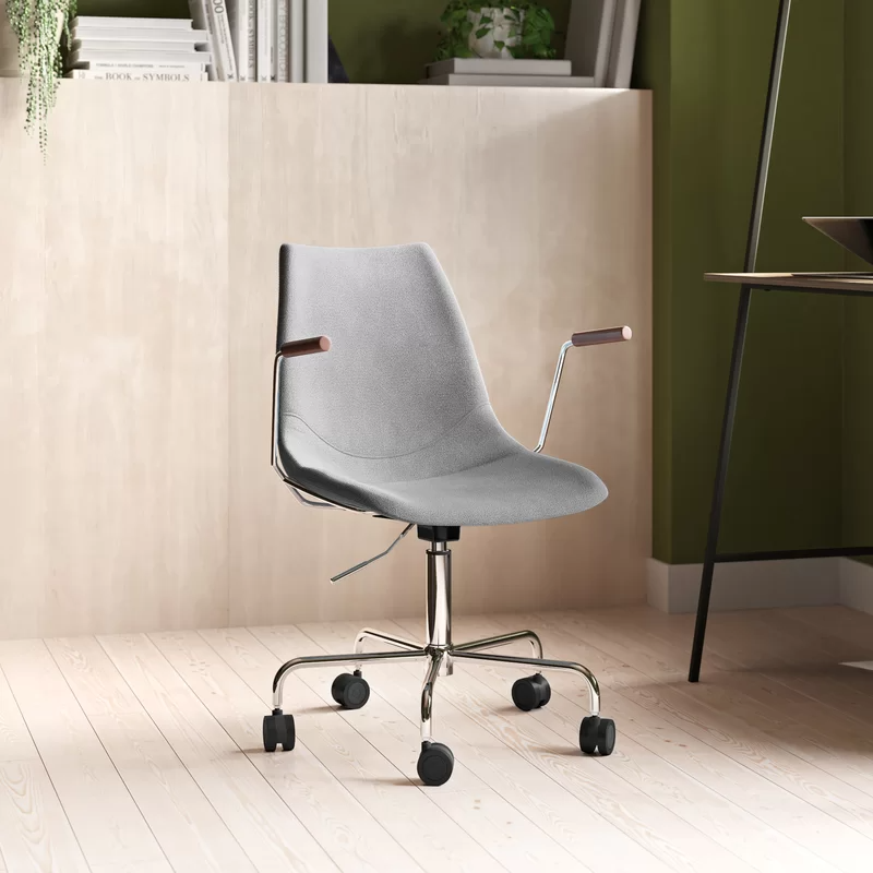 """<h2>AllModern Cabrera Task Chair</h2><br><strong>Best For: Easy Assembly </strong><br>This super sleek and Scandi-vibe task chair combines a sturdy stainless-steel frame with a supportive bucket-style seat that's filled with comfy foam cushioning for your WFH behind — oh, and, according to reviewers, it's also very easy to put together.<br><br><strong>The Hype:</strong> 4.7 out of 5 stars and 28 reviews on <a href=""""https://www.allmodern.com/furniture/pdp/cabrera-task-chair-a001173930.html"""" rel=""""nofollow noopener"""" target=""""_blank"""" data-ylk=""""slk:AllModern"""" class=""""link rapid-noclick-resp"""">AllModern</a><br><br><strong>Comfy Butts Say: </strong>""""Easy to install, comfortable, and love the simple style."""" and """"I purchased this chair to work at home in (I needed something comfortable as I am sitting for many hours and have a heavy bottom). This chair is amazing, very comfortable, easy to assemble and it looks beautiful with my desk in my bedroom. It's a perfect size and does not take up much space. Very satisfied with my purchase!!""""<br><br><br><br><strong>AllModern</strong> Cabrera Task Chair, $, available at <a href=""""https://go.skimresources.com/?id=30283X879131&url=https%3A%2F%2Fwww.allmodern.com%2Ffurniture%2Fpdp%2Fcabrera-task-chair-a001173930.html"""" rel=""""nofollow noopener"""" target=""""_blank"""" data-ylk=""""slk:AllModern"""" class=""""link rapid-noclick-resp"""">AllModern</a>"""