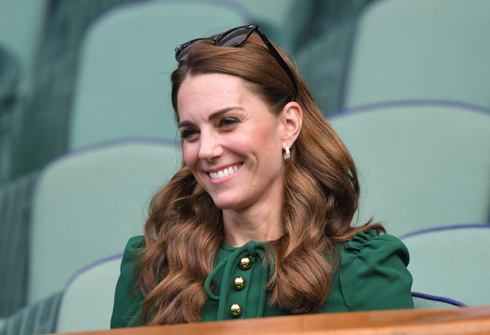 <p>Kate Middleton proved that sunglasses can sometimes be the best beauty accessory, particularly for a trip to Wimbledon. </p>