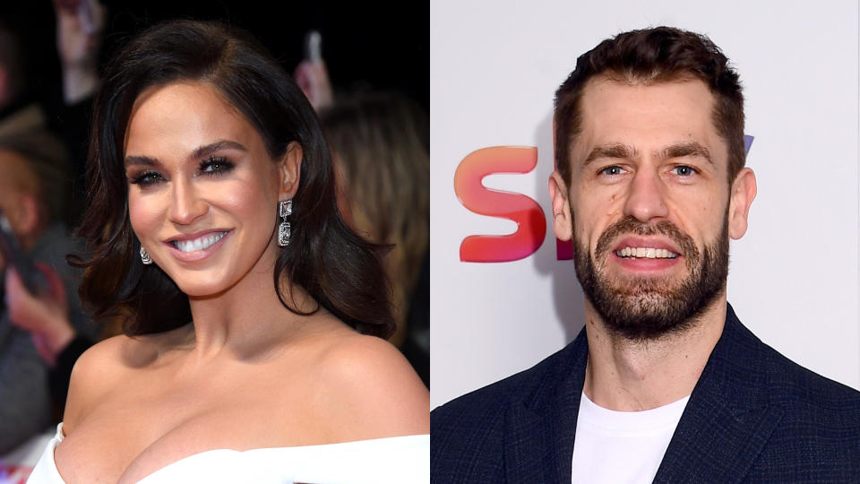 Vicky Pattison has confessed she had an awkward conversation with Kelvin Fletcher's wife. (Karwai Tang/WireImage/Dave J Hogan/Getty Images)