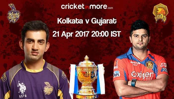 Gujarat opt to field against Kolkata
