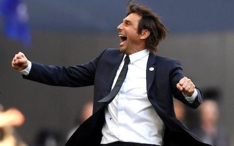Antonio Conte would be interested in a move to Old Trafford - Credit: GETTY IMAGES