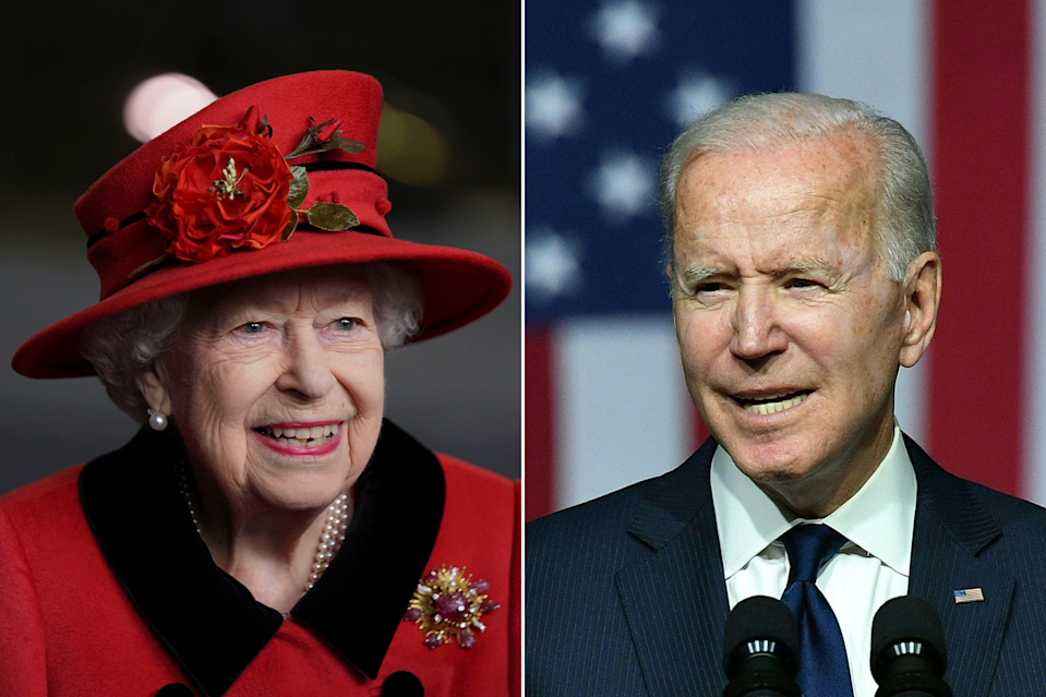 Queen Elizabeth II and President Joe Biden will meet at Windsor Castle on the final day of the June 11-13 visit to the U.K. for the Group of Seven leaders' summit.
