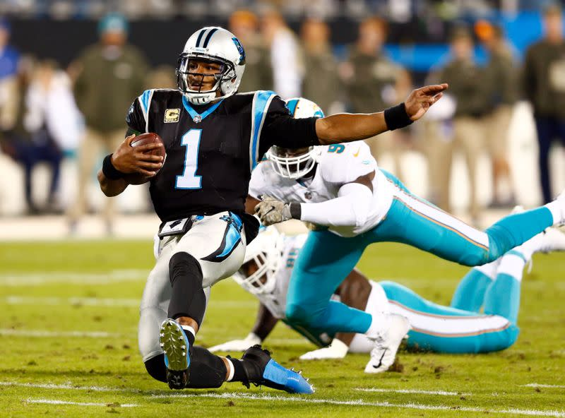 NFL notebook: Panthers, Rhule endorse Newton in 2020