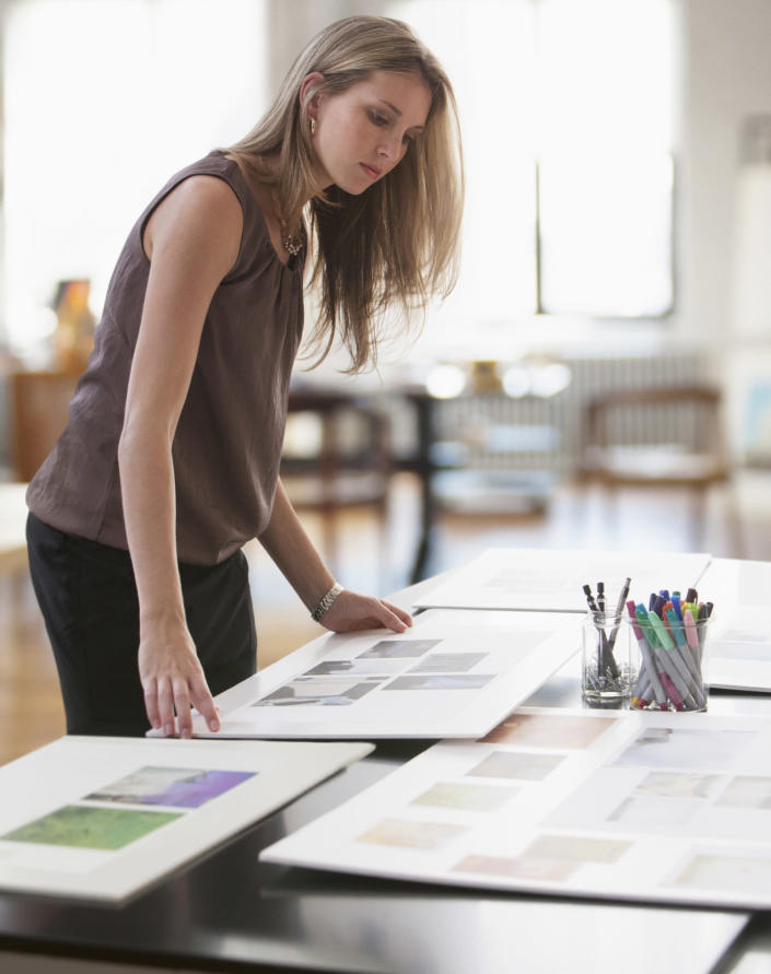 Keep your completed board in a place you frequently spend time. (Getty Images)