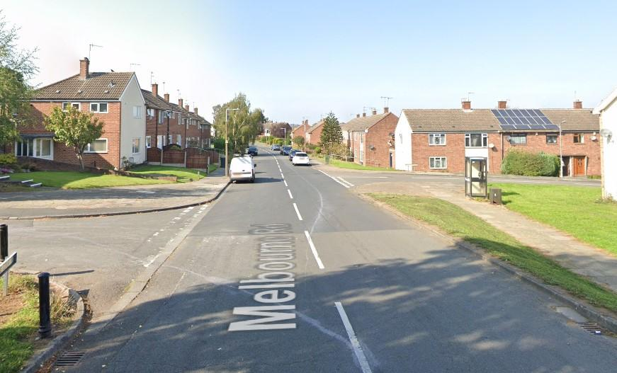 Gary Pearson flagged down a cab on Melbourne Road, Stapleford, Nottinghamshire. (Google Maps)