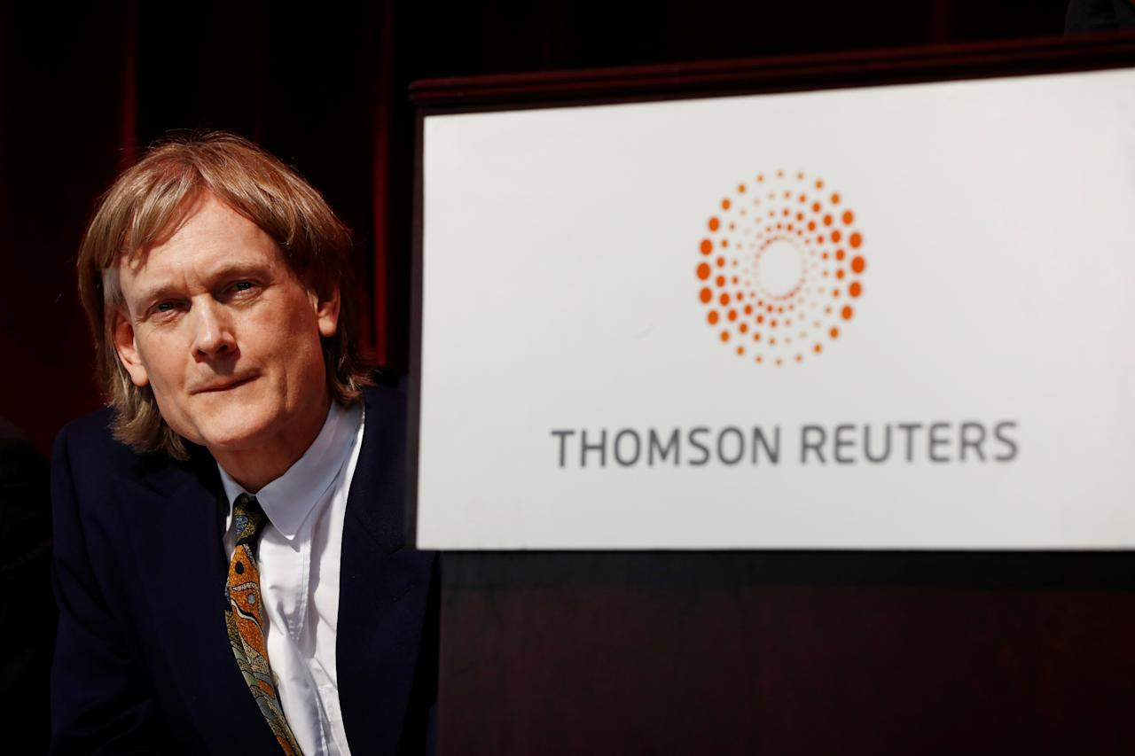 Net worth: $39 billion. Source of wealth: Thomson Reuters (Reuters)