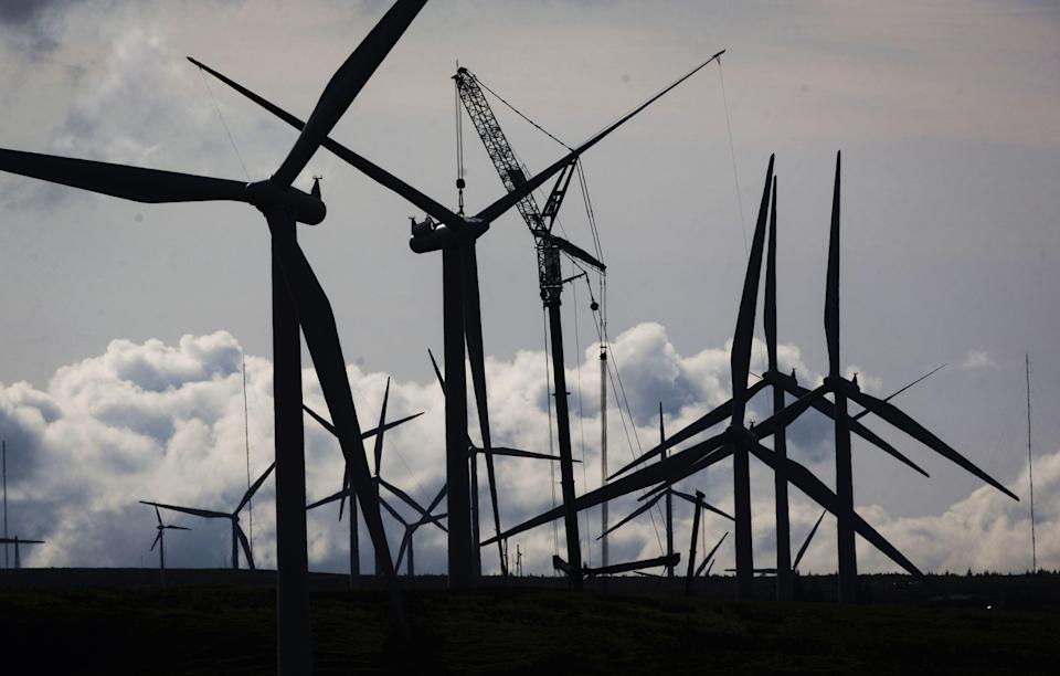 Shell and Scottish Power look to offshore floating wind farm plans. (Danny Lawson / PA) (PA Wire)