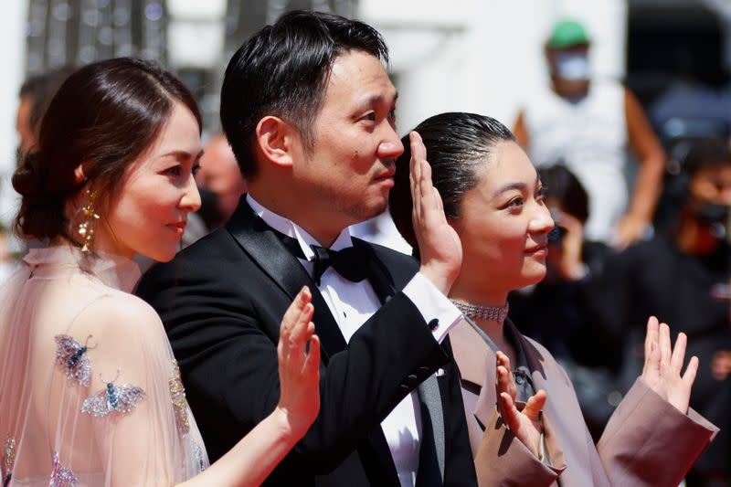"""The 74th Cannes Film Festival - Screening of the film """"Doraibu mai ka"""" in competition - Red Carpet Arrivals"""