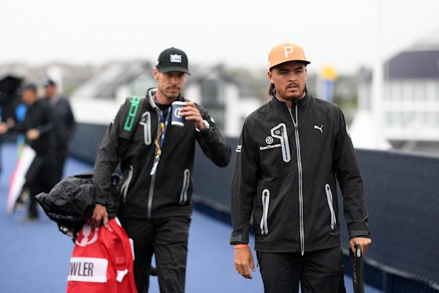 Rickie Fowler understands the significance of orange on the Emerald Isle. That won't stop him from wearing his traditional Sunday ensemble at Royal Portrush.