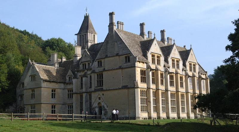 Woodchester Mansion is 'the most haunted mansion in the UK'. Photo: Barry Batchelor/PA Archive/PA Images