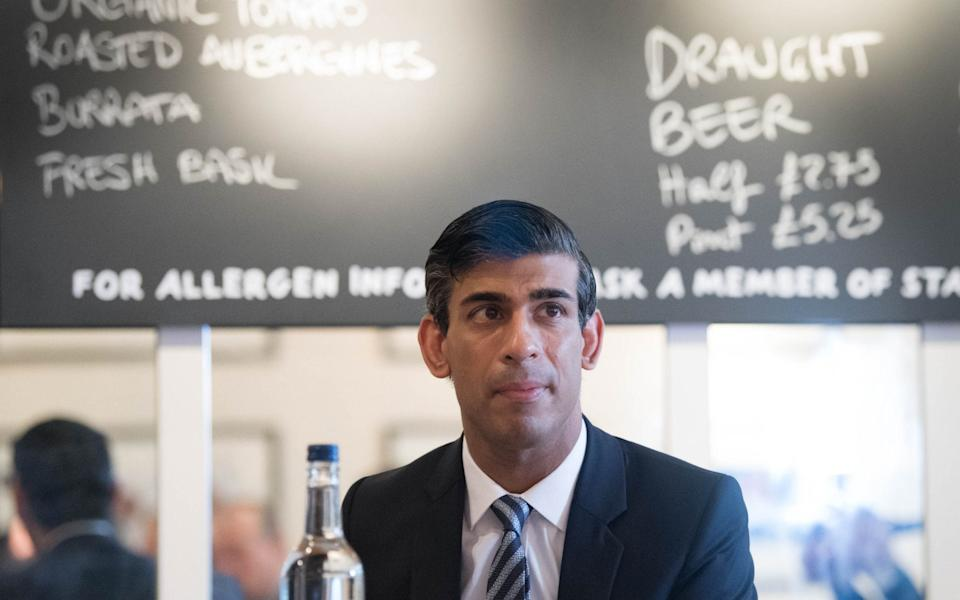 Rishi Sunak is trying to appease aggrieved colleagues - AFP