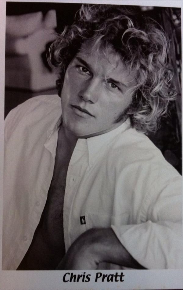 """<p>We don't have to poke fun of the <i>Guardians of the Galaxy</i> actor for this circa 2000 shot, which gives us vibes of Christopher Atkins in <i>Blue Lagoon</i>. He made fun of himself. """"The name's Douchemaster McChest and this is my first headshot. You're welcome."""" Two long years later, the future star of <i>Parks and Recreation</i> landed a role in <i>Everwood</i>followed by a part in <i>The O.C.</i> — and the rest, as they say, is history. (Photo: <a rel=""""nofollow"""" href=""""https://twitter.com/prattprattpratt/status/510227498563428352?lang=en"""">Twitter</a>) </p>"""