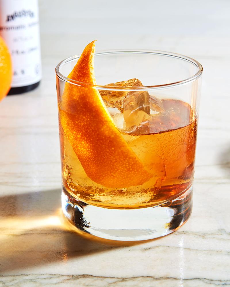 Try the Old Fashioned every which way.