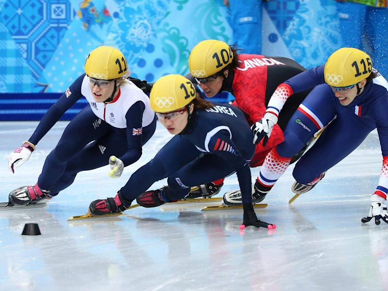 Mass-start speed skating will make its Olympic debut (Getty)