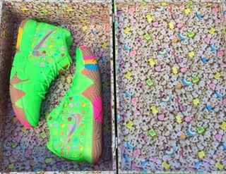 wholesale dealer f2e76 aa1ad A Second Nike Kyrie 4 'Lucky Charms' Colorway May Be ...