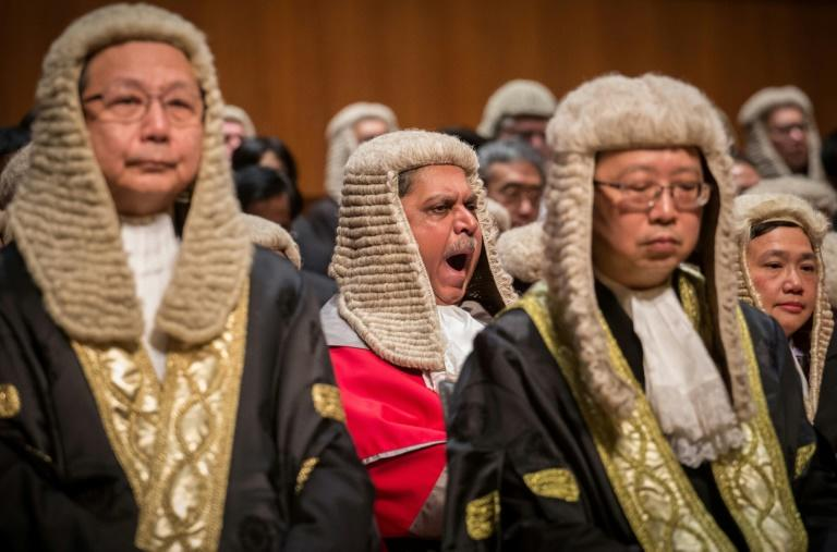 Magistrados do tribunal de Hong Kong