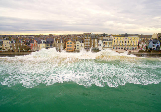<p>Saint-Malo, France, by Easy Ride, taken at 53 feet. (Caters News) </p>