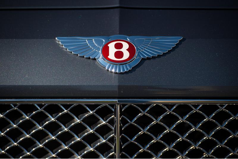 A Bentley Flying Spur car