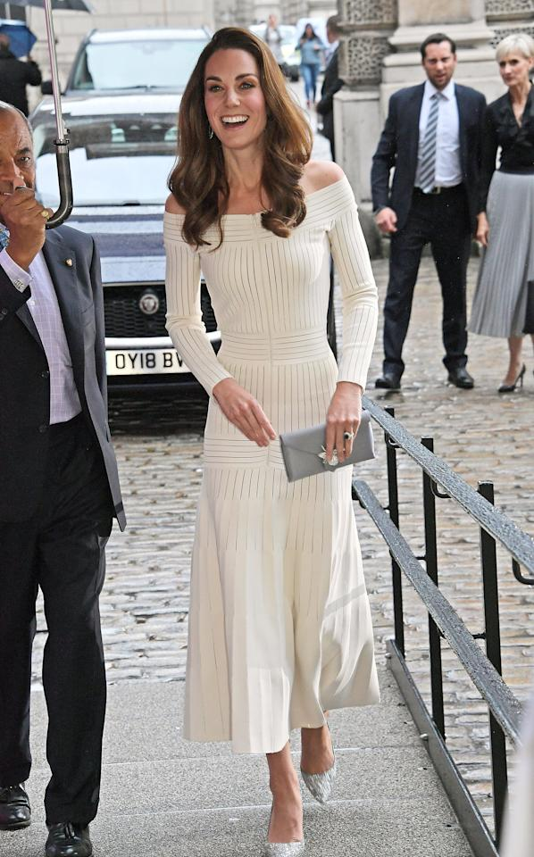 "<a href=""https://people.com/tag/kate-middleton/"">Kate Middleton</a> is upping her fashion game this summer! In June, she went glam in a white off-the-shoulder dress by Barbara Casasola.  ""Kate felt like she was in a bit of a style rut and thought she needed a little edge,"" a source tells PEOPLE. ""She's consciously worked on getting her look to be a bit younger and more modern, and it's worked!"""