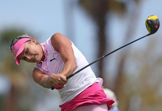 Would having the likes of Lexi Thompson playing at Augusta National help promote women's golf? (Getty Images)