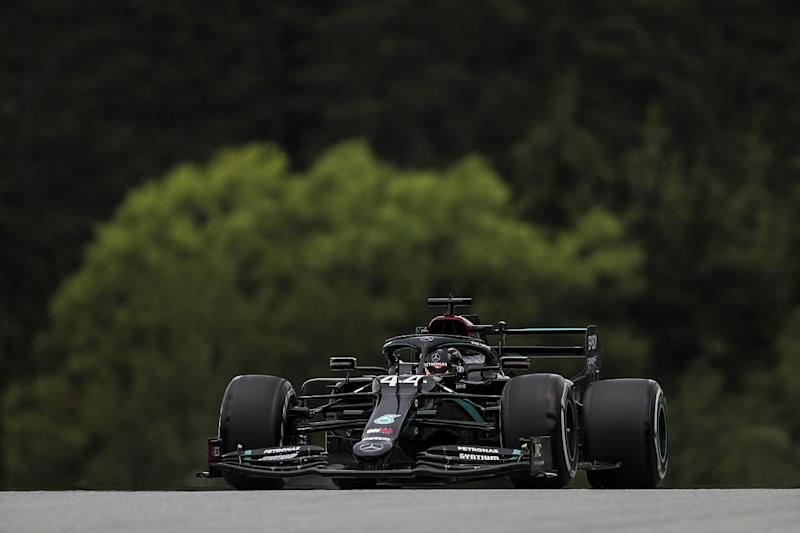 Hamilton heads Mercedes 1-2 in Austria FP1