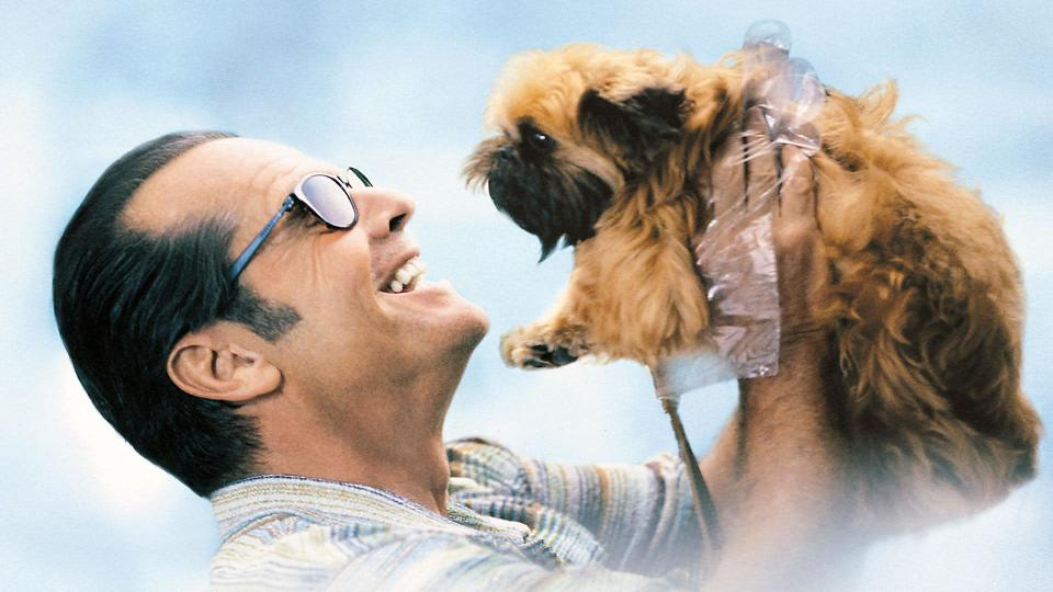 <p> <strong>UK:</strong> Amazon Prime Video (rent or buy) </p> <p> <strong>US:</strong> Netflix </p> <p> Jack Nicholson stars as an obsessive-compulsive novelist who takes an interest in waitress Carol Connelly (Helen Hunt), then finds himself lumbered with his neighbour's dog after he is hospitalised. The trio form an unlikely friendship in this romcom that won Nicholson and Hunt Academy Award for Best Actor and Best Actress. </p>