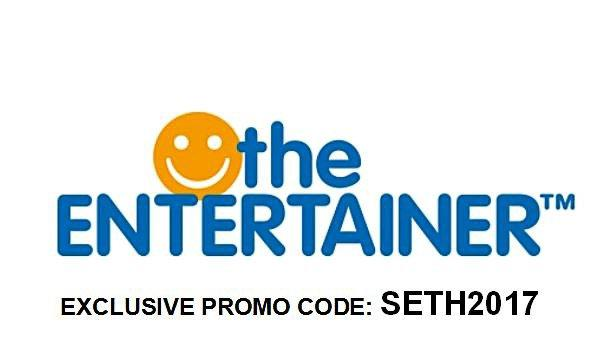 Get a percentage off site-wide with this discount code from The Entertainer Get a cash discount or percentage off specific items or ranges when you apply your Entertainer discount code Frequently, The Entertainer discount codes involve a minimum spend requirement.