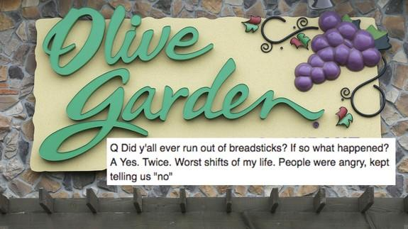 Guy goes on date with former manager of Olive Garden and posts ...