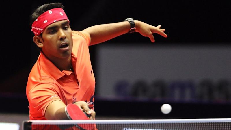 Sharath Kamal Enters Pre-Quarters at Asian Table Tennis C'ships