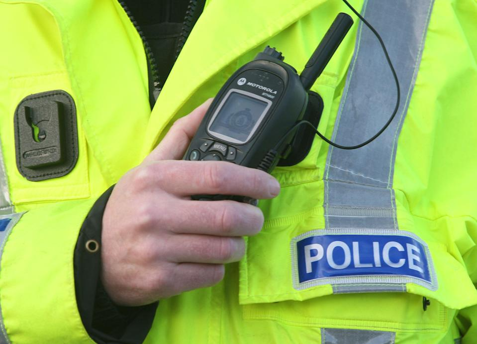 <p>A man was stabbed in his chest and neck while on Maitland Street, Bedford</p> (PA)