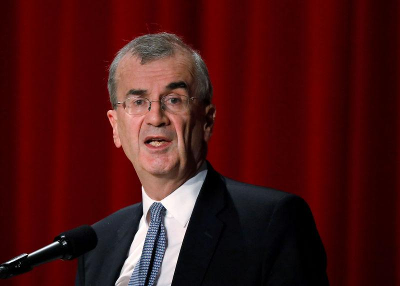 FILE PHOTO: ECB policymaker Villeroy de Galhau, who is also governor of the French central bank, attends the Paris Europlace International Financial Forum in Tokyo