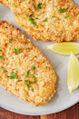 """<p><a href=""""https://www.delish.com/uk/chicken-recipes/"""" rel=""""nofollow noopener"""" target=""""_blank"""" data-ylk=""""slk:Chicken"""" class=""""link rapid-noclick-resp"""">Chicken</a> breasts have a terrible reputation for drying out, but an air fryer keeps that from happening. The quick cook time means they stay nice and tender and the breading still gets extra crispy. All without a drop of oil. It's an actual miracle.</p><p>Get the <a href=""""https://www.delish.com/uk/cooking/recipes/a30543417/air-fryer-chicken-breast-recipe/"""" rel=""""nofollow noopener"""" target=""""_blank"""" data-ylk=""""slk:Air Fryer Chicken Breast"""" class=""""link rapid-noclick-resp"""">Air Fryer Chicken Breast</a> recipe.</p>"""