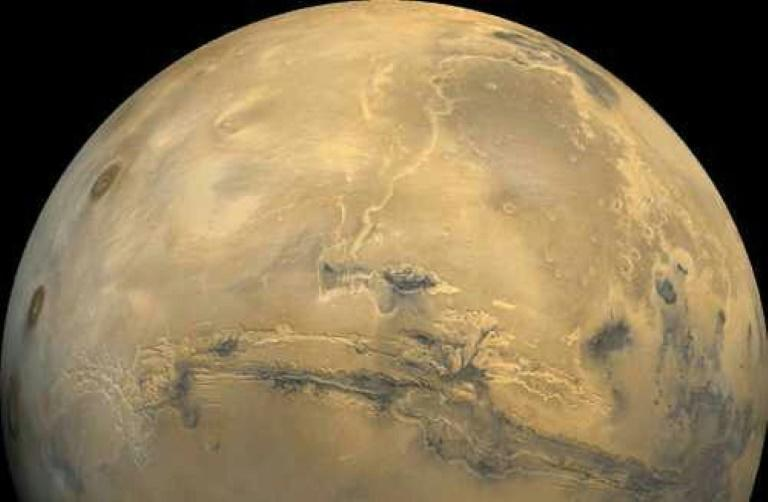 Astronauts bound for Mars will have to travel about 140 million miles (225 million kilometers), depending on where the two planets are relative to each other