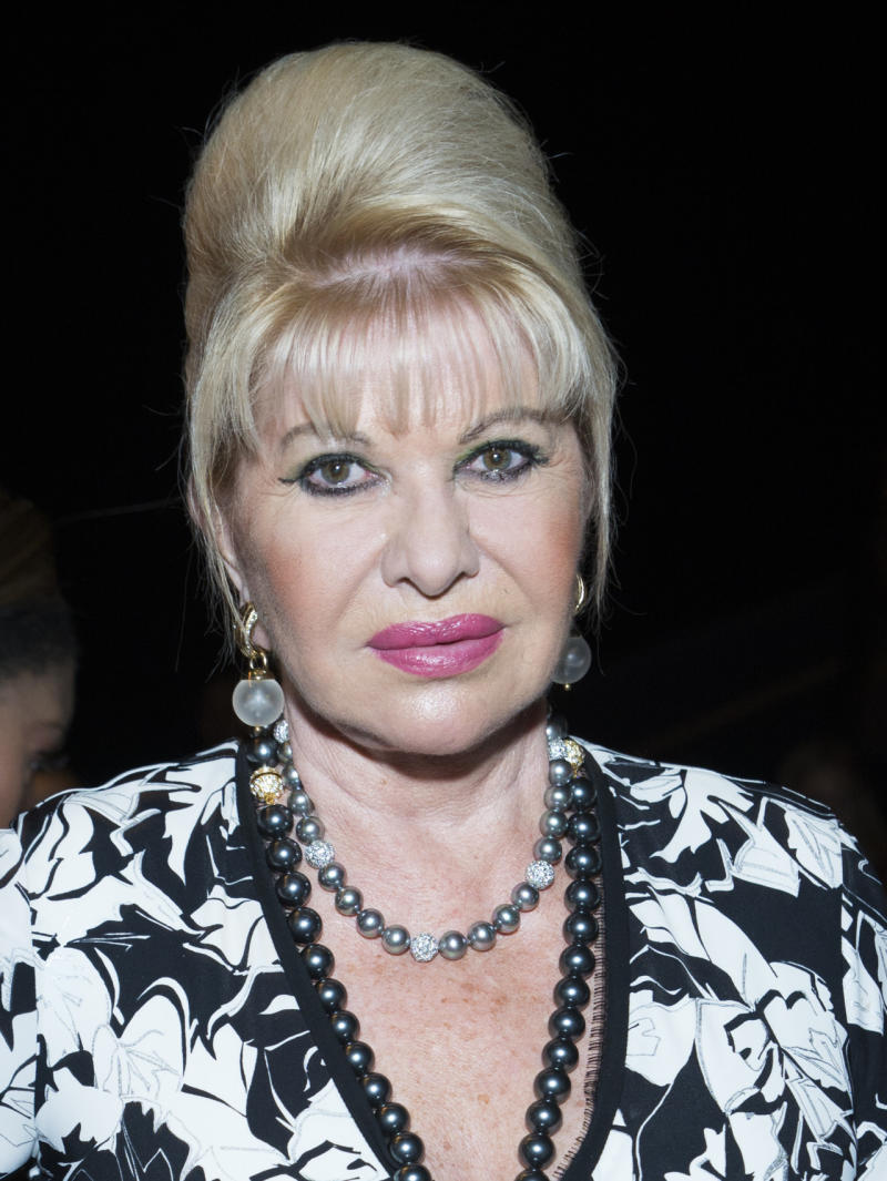 Ivana Yes Ivana Trump Turned Heads At Nyfw