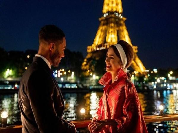 First look photo of 'Emily in Paris' (Image Source: Instagram)