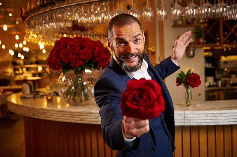 Fred Sirieix is the maître d' of the 'First Dates' restuarant (Credit: Channel 4)