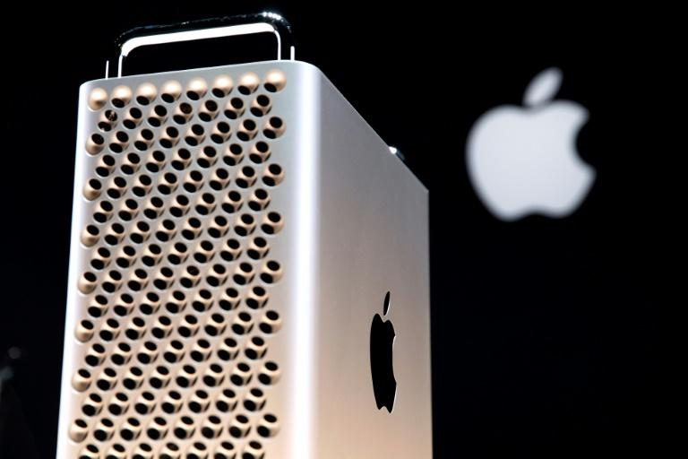 President Donald Trump said Apple would face tariffs for components of its Mac Pro computers which are expected to be manufactured in China