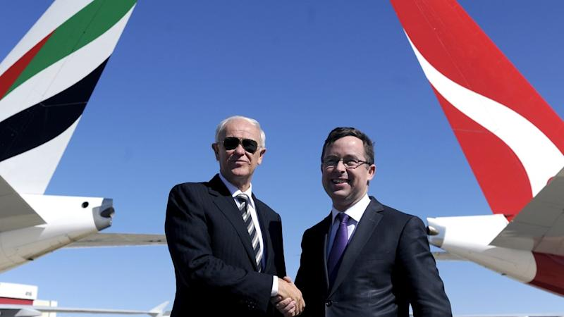 Unions want Qantas/Emirates deal inquiry