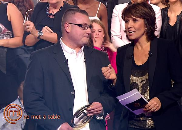 Ludovic remporte MasterChef 2012 face à Pierre