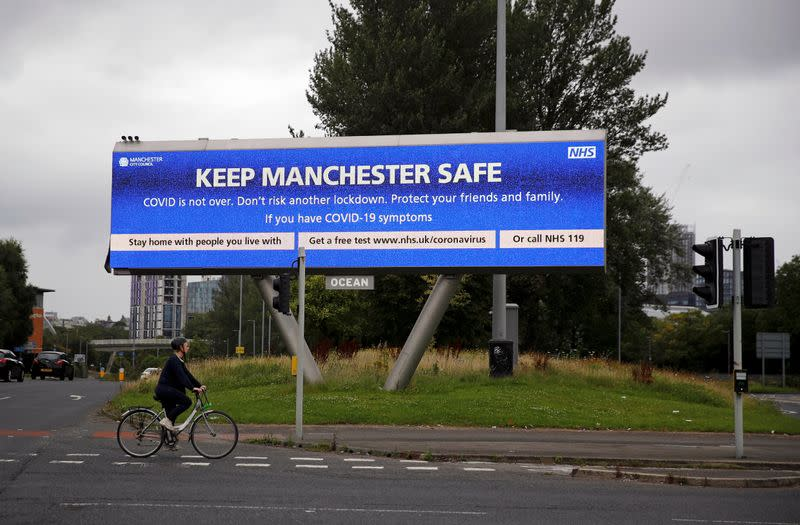 'Major incident' declared in British city of Manchester to tackle COVID-19