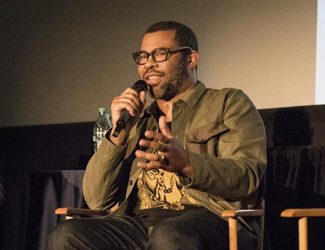 Jordan Peele speaks at a Blu-ray event for 'Get Out' (Getty Images)