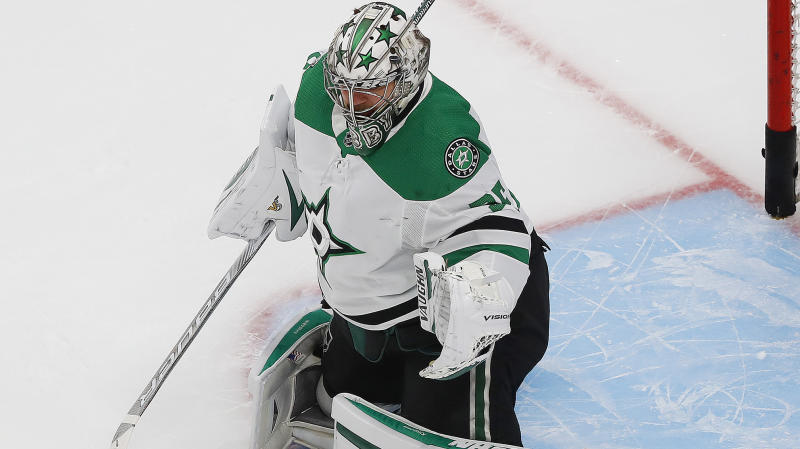 Khudobin stands tall against Tampa onslaught