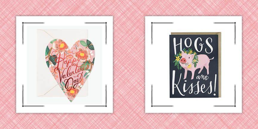 """<p>Nothing tops a handwritten note on Valentine's Day. Of course, you could go the <a href=""""https://www.countryliving.com/diy-crafts/how-to/g2963/diy-valentines-day-cards/"""" rel=""""nofollow noopener"""" target=""""_blank"""" data-ylk=""""slk:handmade card"""" class=""""link rapid-noclick-resp"""">handmade card</a> route, but if you're short on time, a ready-made one with a perfect <a href=""""https://www.countryliving.com/life/g89/love-quotes/"""" rel=""""nofollow noopener"""" target=""""_blank"""" data-ylk=""""slk:love quote"""" class=""""link rapid-noclick-resp"""">love quote</a> written inside is sure to make their day. Stores are flooded with options this time of year, and we're here to help you narrow down the search. <em>Country Living</em> staffers chose their favorite cards, from sentimental heart-shaped ones to laugh-out-loud funny options. You'll find a card for every Valentine on your list, from your significant other, to your kids, and even your Galentines.</p>"""