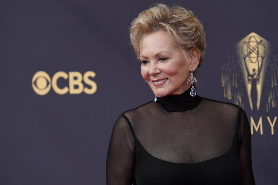 Jean Smart arrives at the 73rd Primetime Emmy Awards. - Credit: Chris Pizzello/Invision/AP