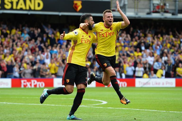 Miguel Britos says Vicarage Road atmosphere helped Watford snatch late point against Liverpool