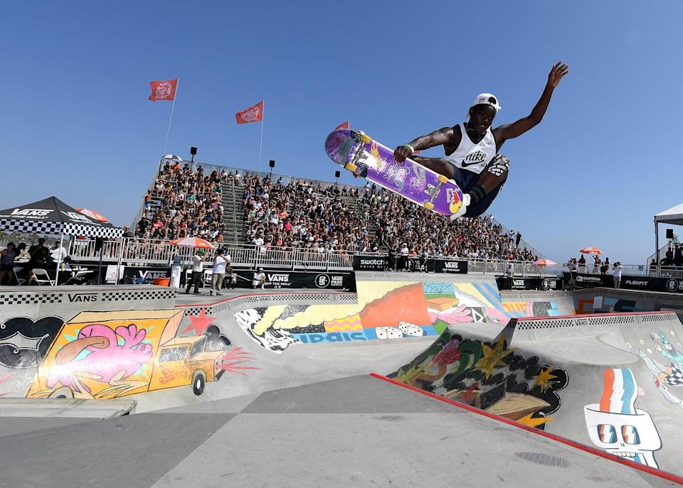 """<p>Skateboarding has <a href=""""http://youtu.be/PXTEzHM0y4w?t=561"""" class=""""link rapid-noclick-resp"""" rel=""""nofollow noopener"""" target=""""_blank"""" data-ylk=""""slk:brought joy to Zion"""">brought joy to Zion</a> since he was four years old. Since entering his first competition at eight years old, he has become equally skilled in both park and street skating. For more about Zion, check out his <a href=""""http://usaskateboarding.com/blogs/2020-usa-skateboarding-national-team/zion-wright-mens-park"""" class=""""link rapid-noclick-resp"""" rel=""""nofollow noopener"""" target=""""_blank"""" data-ylk=""""slk:USA Skateboarding profile"""">USA Skateboarding profile</a>.</p> <p><strong>Olympic Team: </strong>Men's Skateboard Park<br></p> <p><strong>Age: </strong>22<br></p> <p><strong>Hometown: </strong>Jupiter, FL</p> <p><strong>Instagram: </strong><a href=""""http://instagram.com/zionwright"""" class=""""link rapid-noclick-resp"""" rel=""""nofollow noopener"""" target=""""_blank"""" data-ylk=""""slk:@zionwright"""">@zionwright</a></p>"""