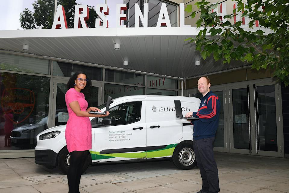 <p>Arsenal have been nominated for Community Project of the Year at the London Football Awards </p> (Arsenal FC via Getty Images)