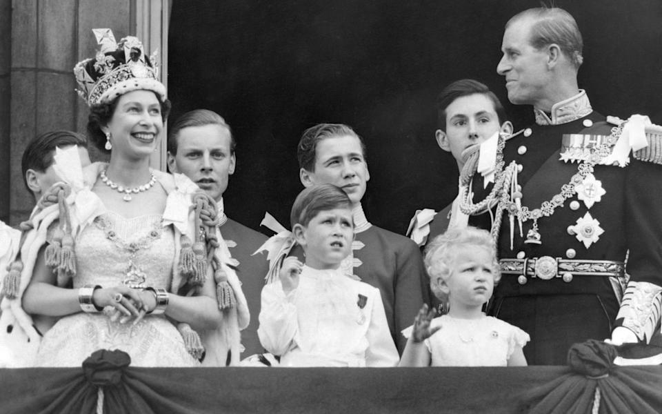 File photo dated 02/06/53 of the Royal Family on the balcony at Buckingham Palace after the coronation at Westminster Abbey. The Queen will have reigned as monarch for 69 years on Saturday. PA Photo. Issue date: Friday February 5, 2021. The PA news agency takes a look at her reign through the decades, as she prepares to reach the 69th anniversary of her accession on February 6 - one year away from her Platinum Jubilee. See PA story ROYAL Queen Pictures. Photo credit should read: PA/PA Wire - PA Wire
